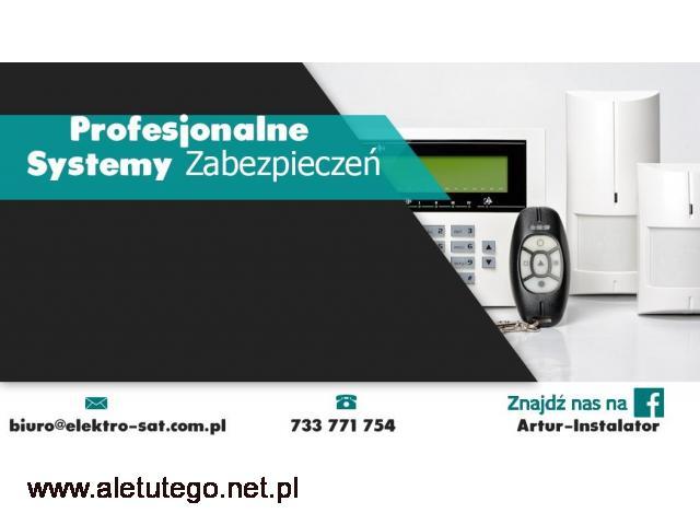 Serwis i montaż systemów alarmowych i systemów kamer Białogard